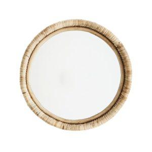 Wandspiegel aus Bambus