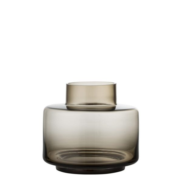Mundgeblasene Vase aus Glas