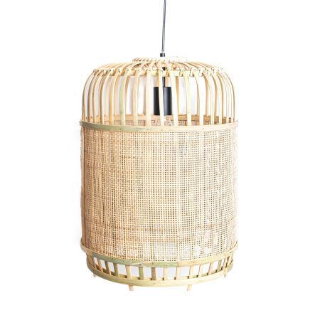 Deckenleuchte aus Bambus